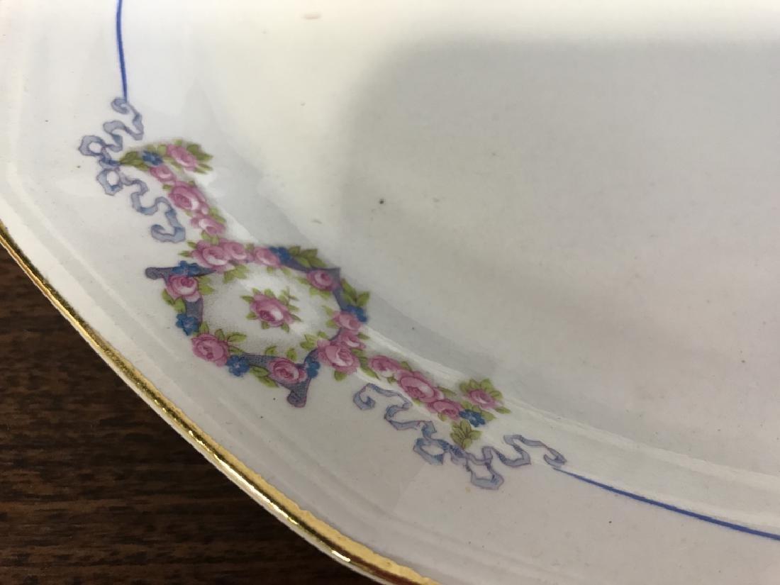Vintage Group of porcelain Serving Utensils - 8