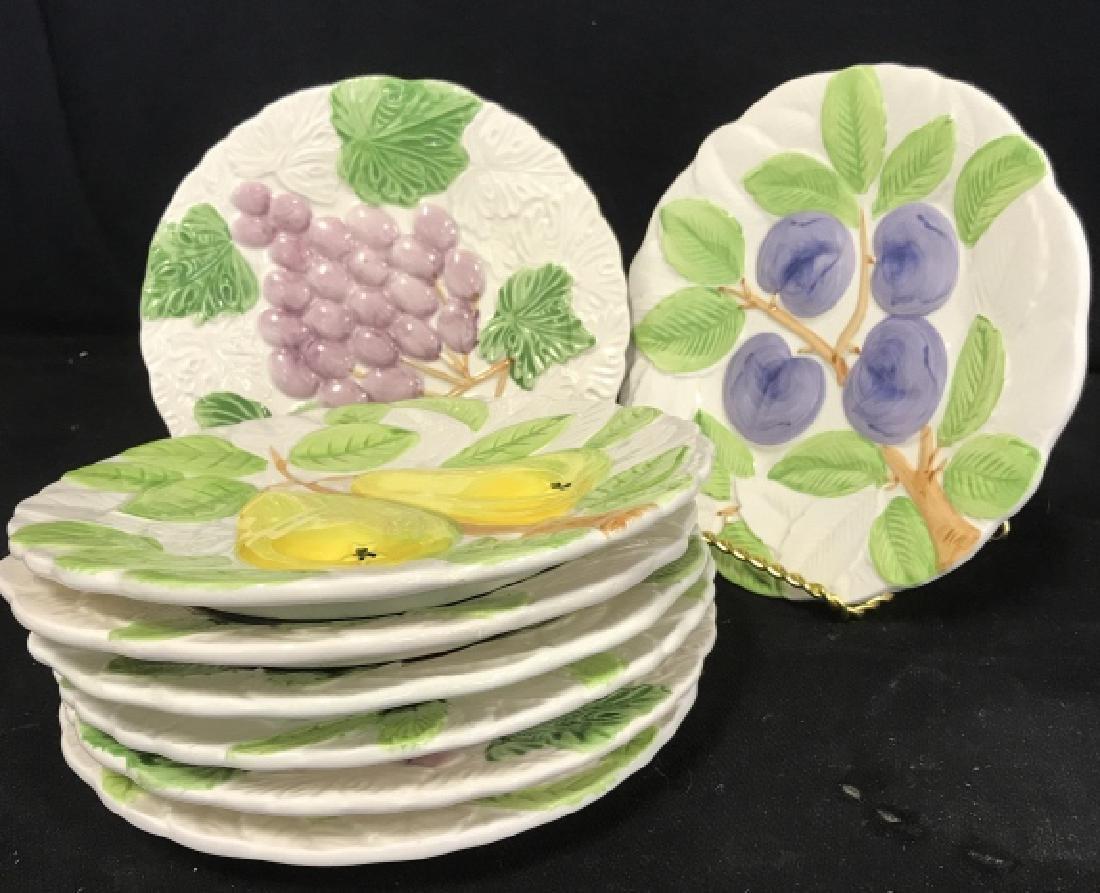 Group Set of 10 Dessert Plates
