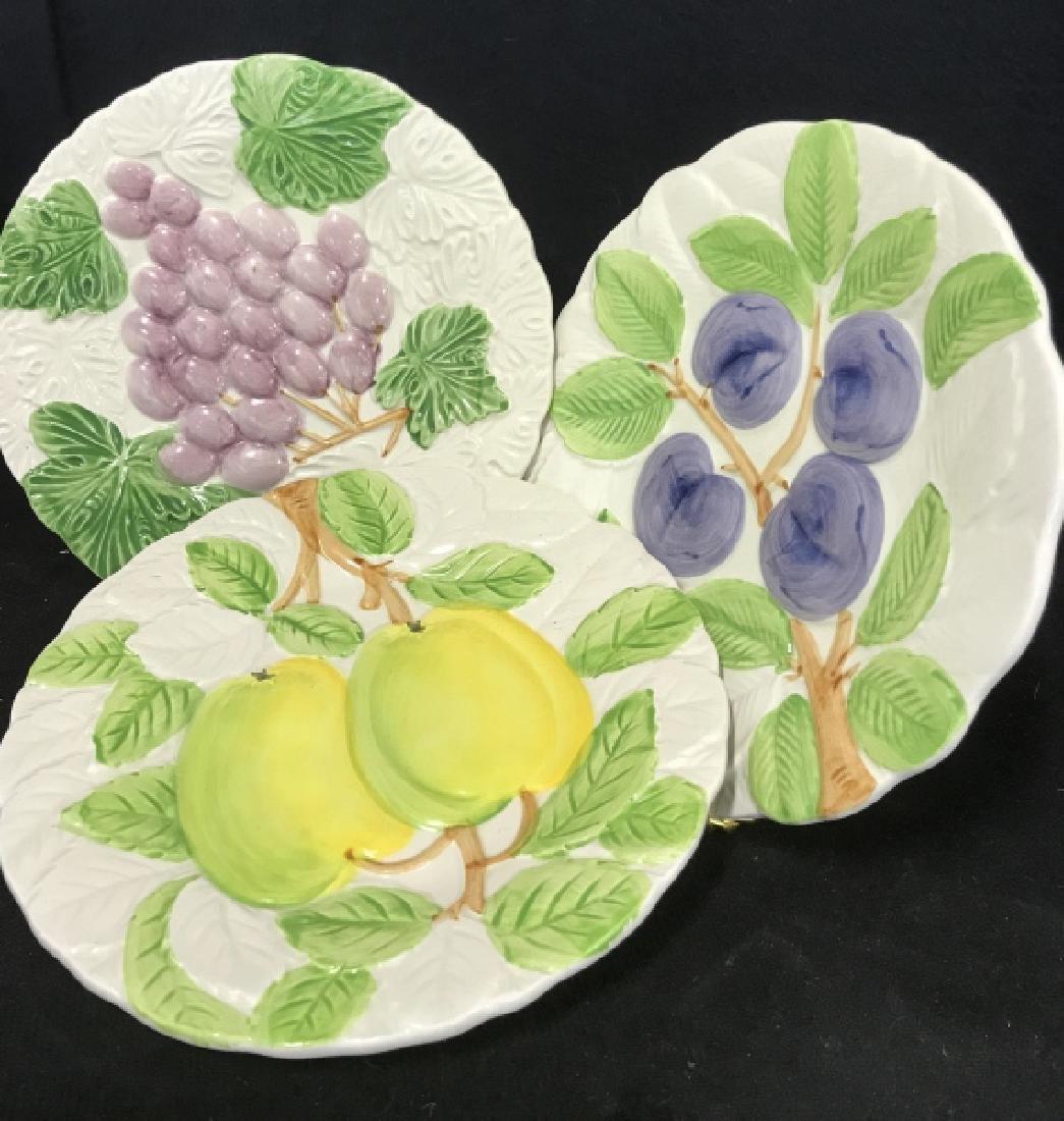 Group Set of 10 Dessert Plates - 8