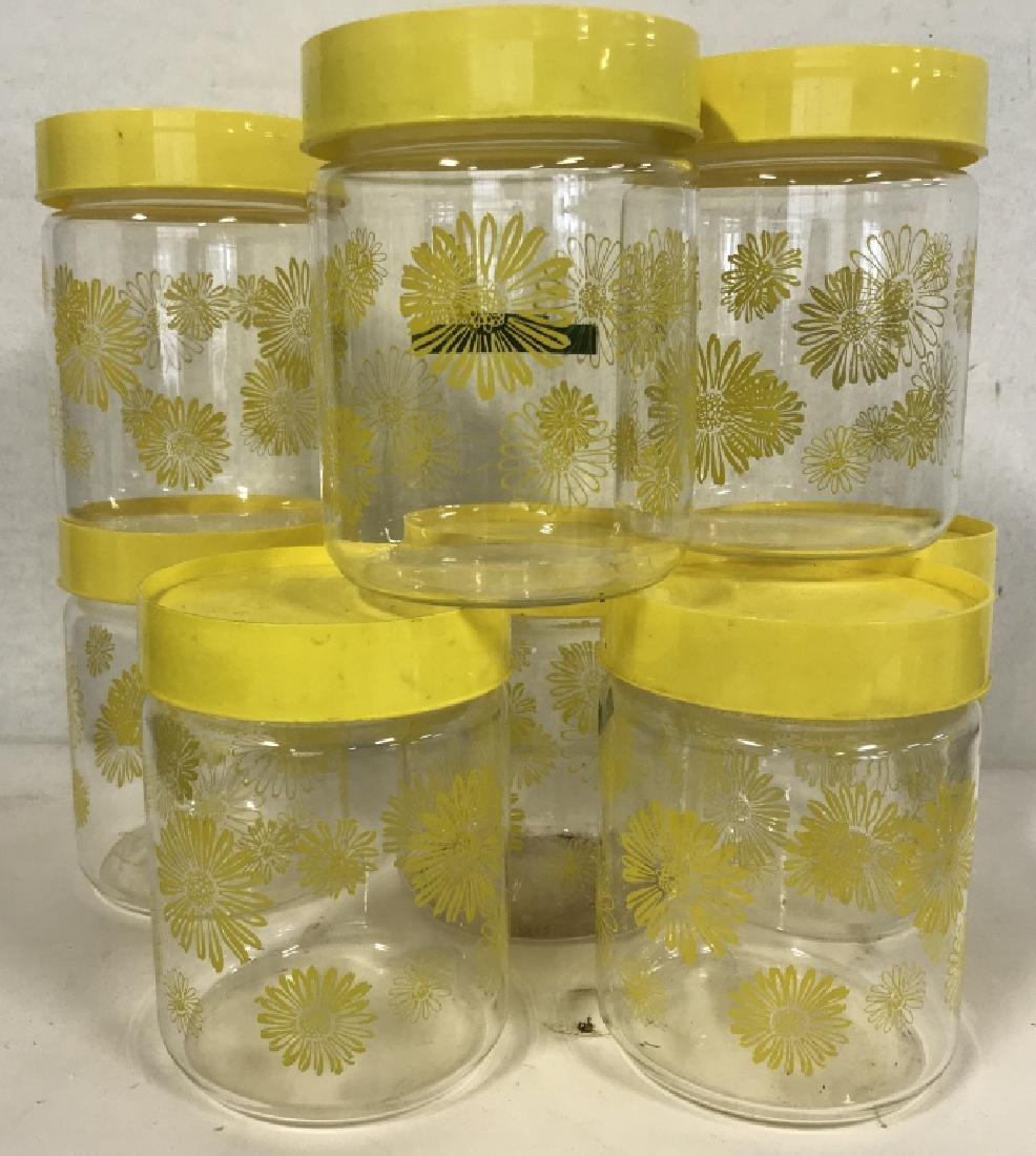 Vintage Group Lot of Kitchen Jars