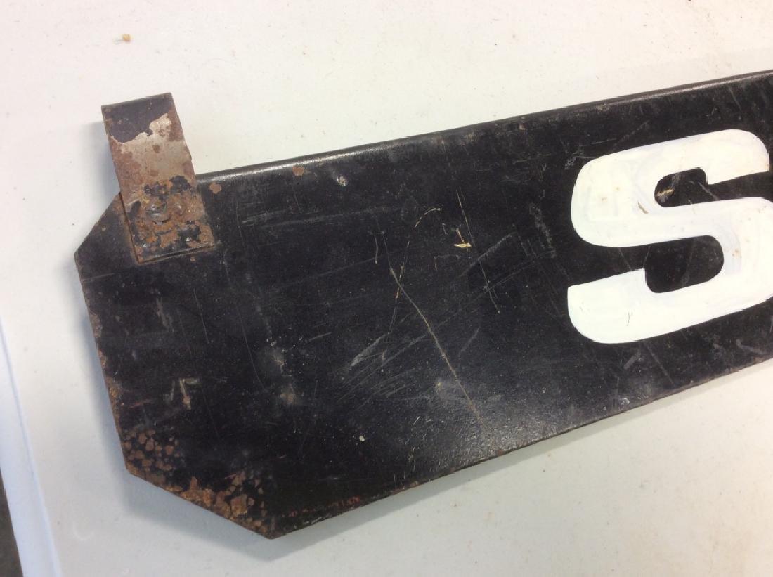 Vintage Outdoor Metal 'SOLD' Sign - 4