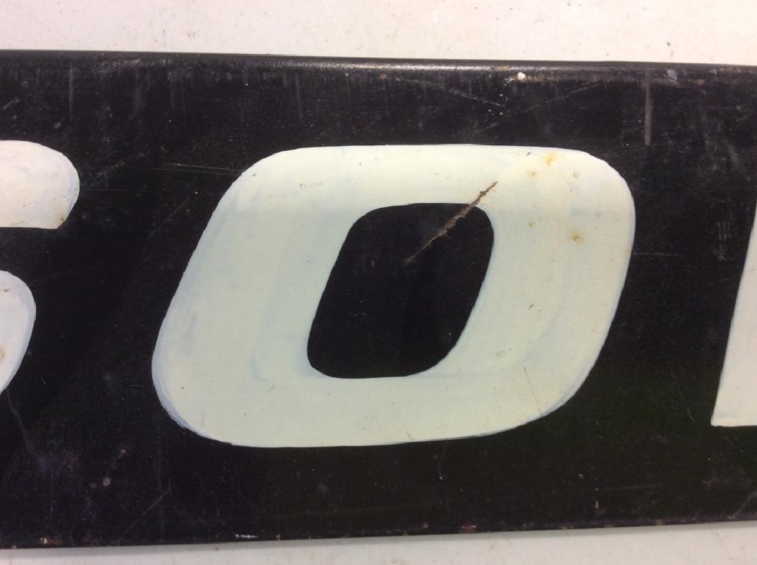 Vintage Outdoor Metal 'SOLD' Sign - 6