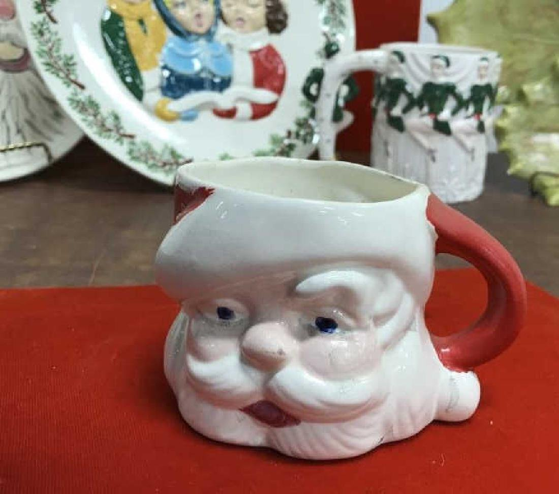 Group Lot of Vintage Christmas Dishes - 7