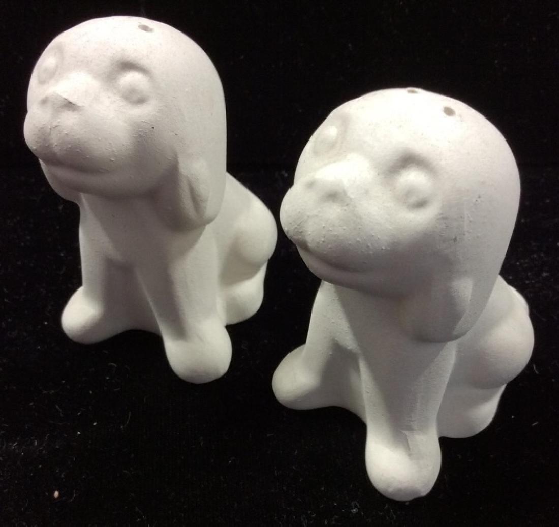 Group Lot Vintage / Retro Dog Figural Tableware - 4