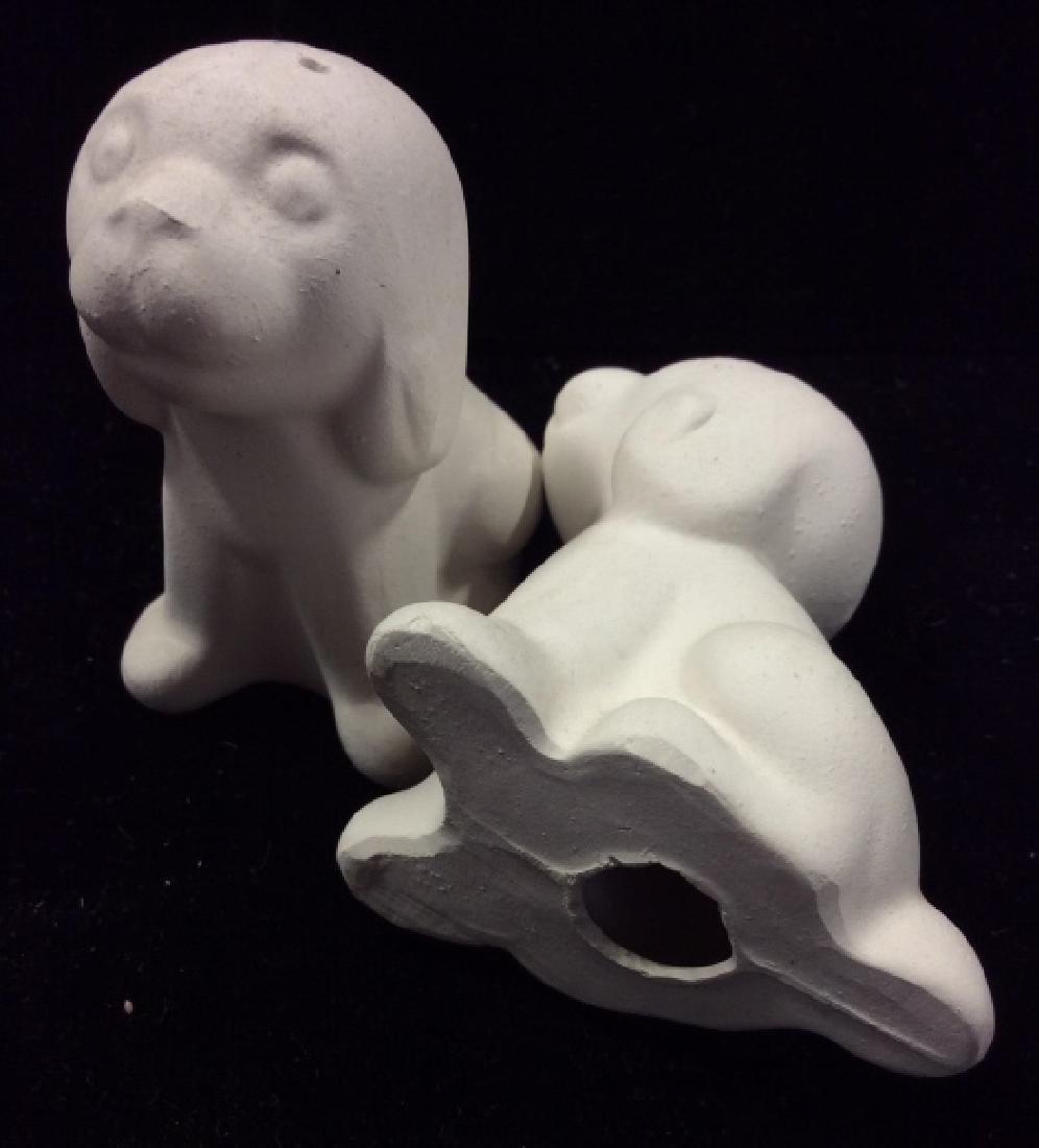 Group Lot Vintage / Retro Dog Figural Tableware - 5
