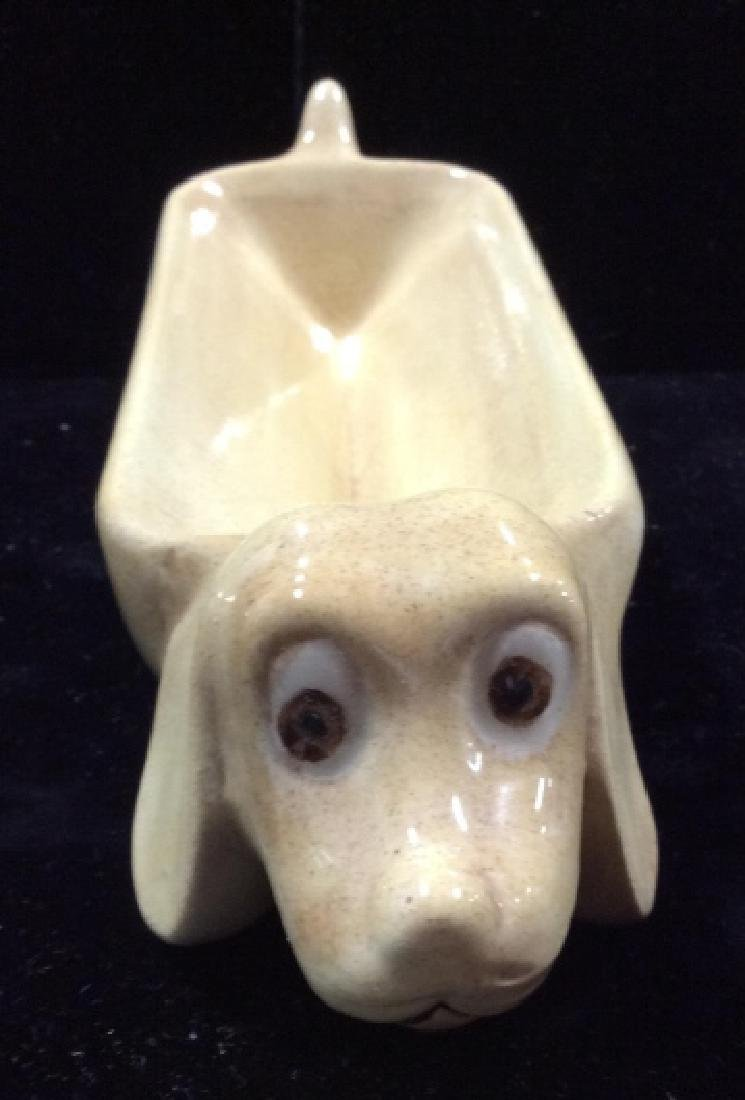 Group Lot Vintage / Retro Dog Figural Tableware - 7