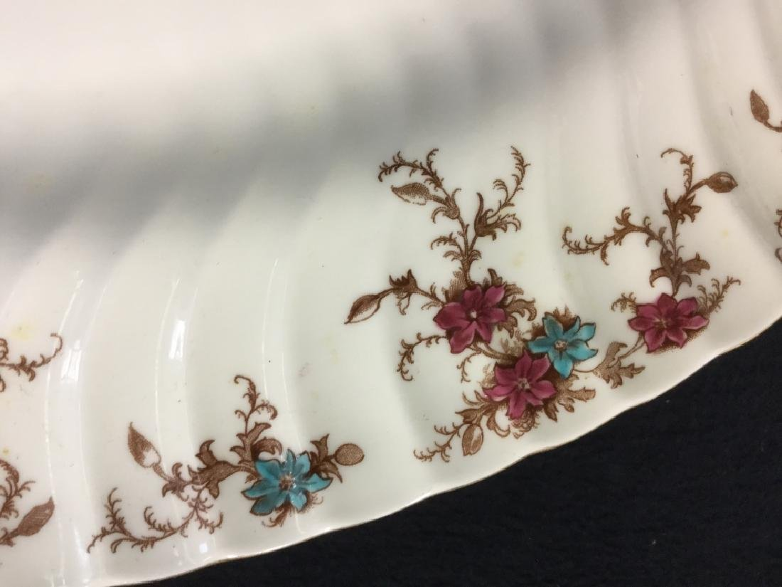 Pair of MINTON Bone China Oval Serving Platters - 10