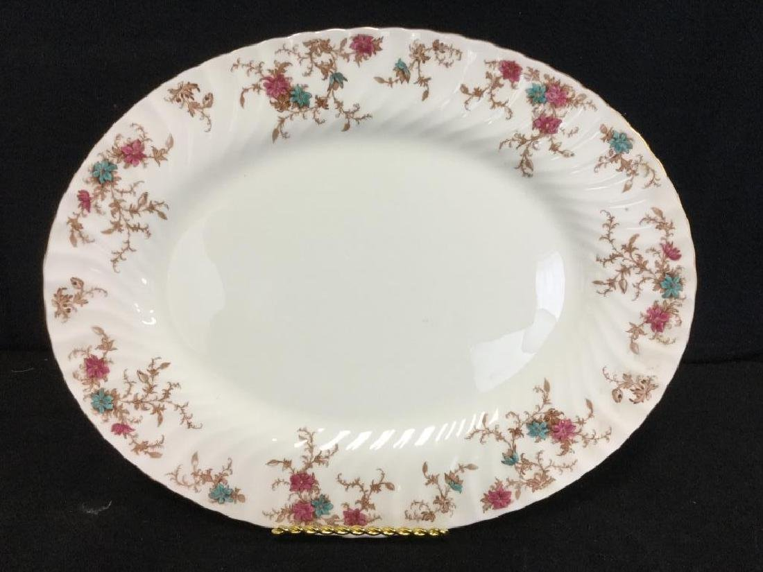 Pair of MINTON Bone China Oval Serving Platters - 3