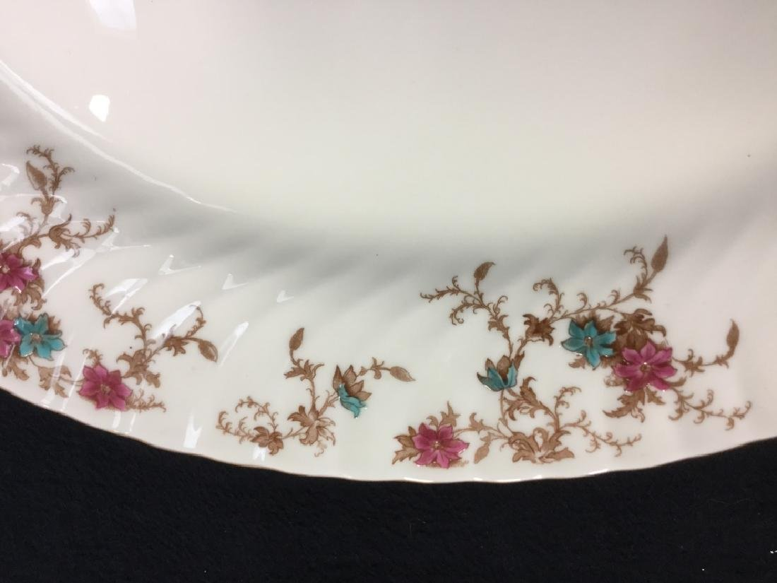Pair of MINTON Bone China Oval Serving Platters - 4