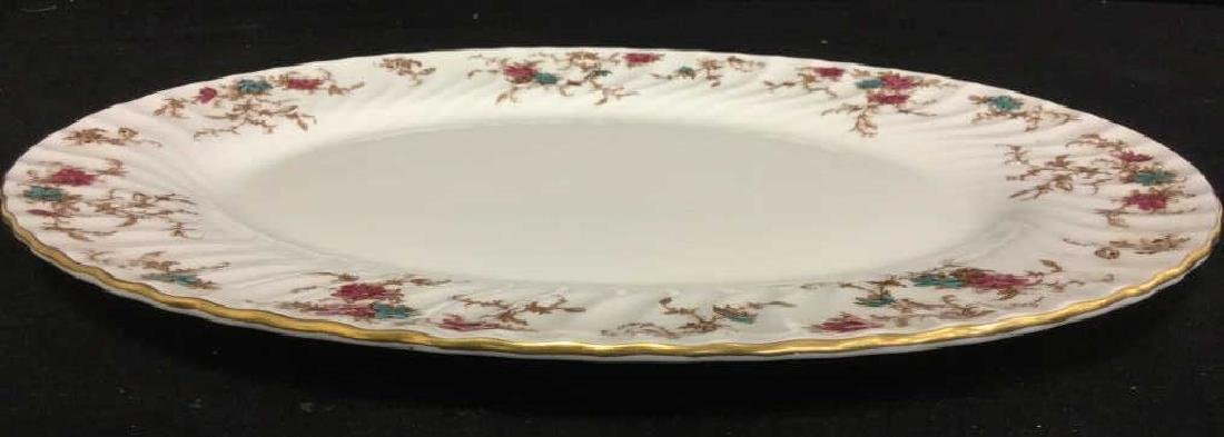 Pair of MINTON Bone China Oval Serving Platters - 6