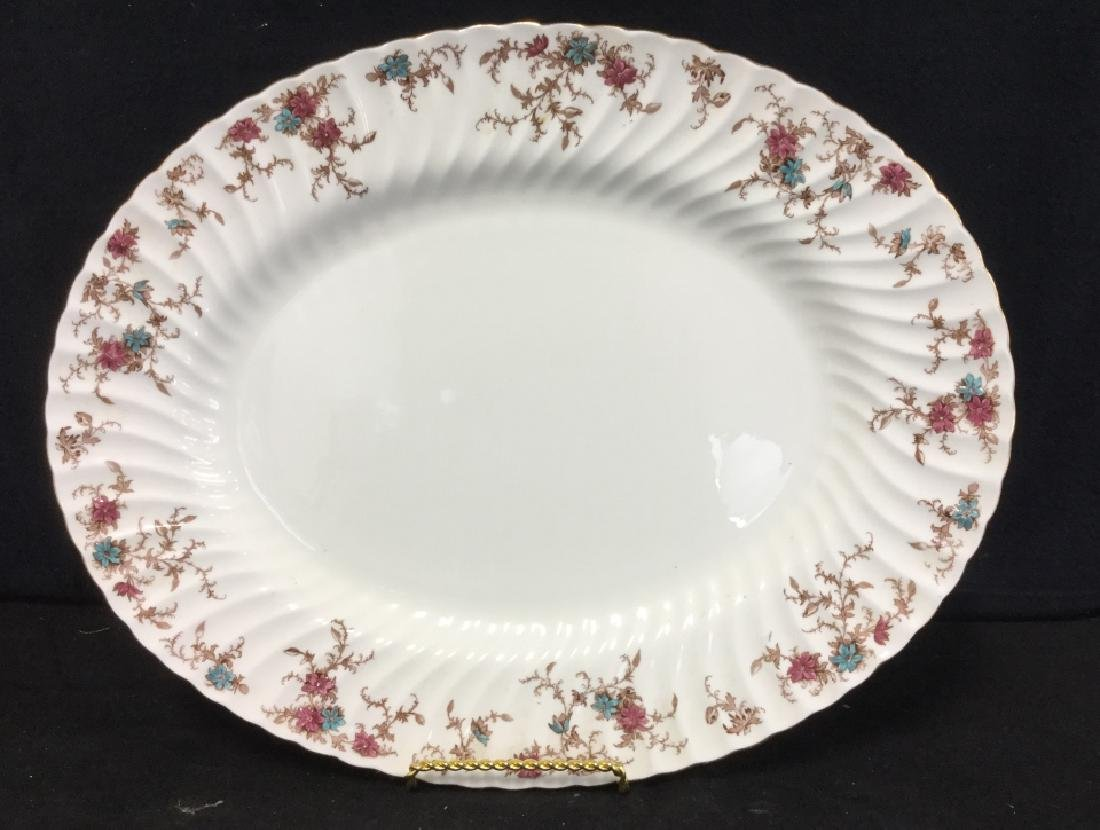 Pair of MINTON Bone China Oval Serving Platters - 9