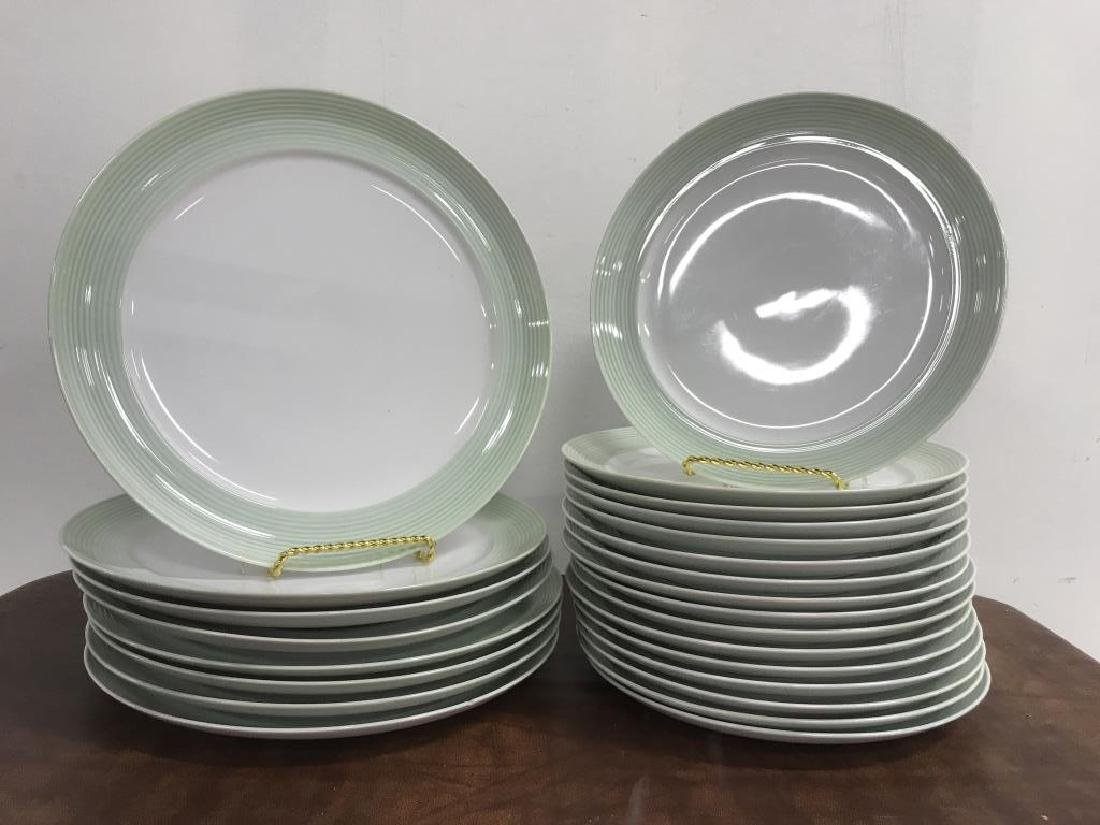 Large Collection of CRATE & BARREL Plate Set - 10