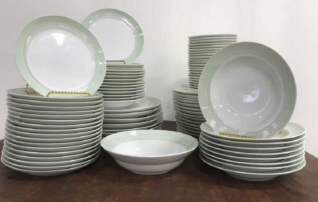 Large Collection of CRATE & BARREL Plate Set