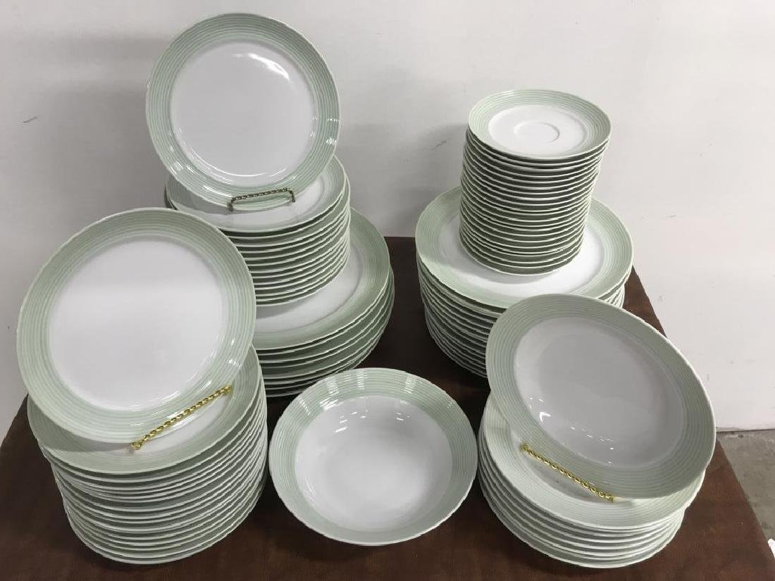 Large Collection of CRATE & BARREL Plate Set - 2