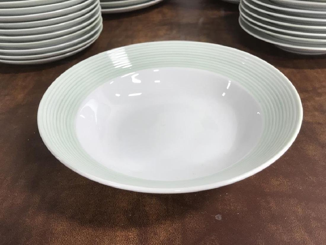 Large Collection of CRATE & BARREL Plate Set - 4