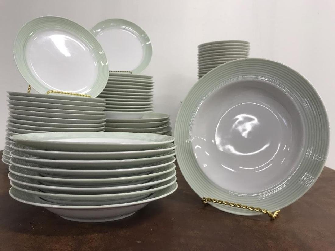 Large Collection of CRATE & BARREL Plate Set - 5