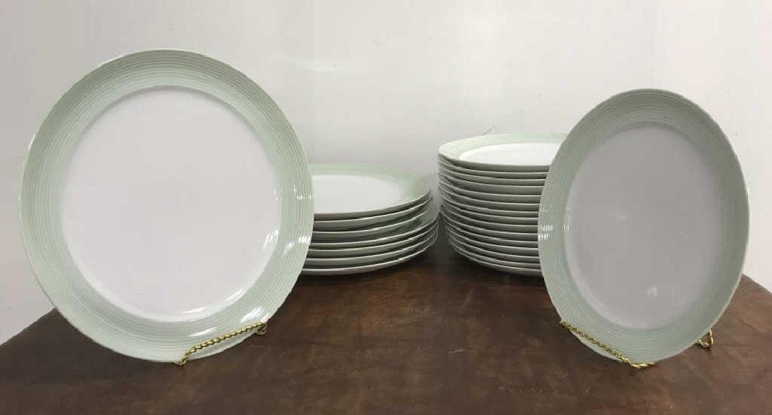 Large Collection of CRATE & BARREL Plate Set - 8