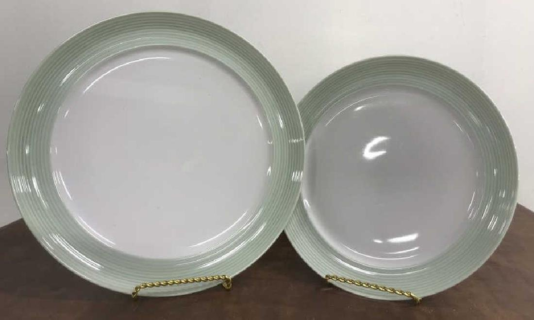 Large Collection of CRATE & BARREL Plate Set - 9