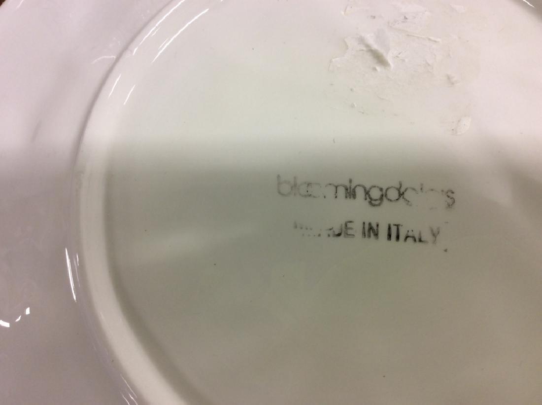 Group Lot Glass Ceramic Serving Platters - 5