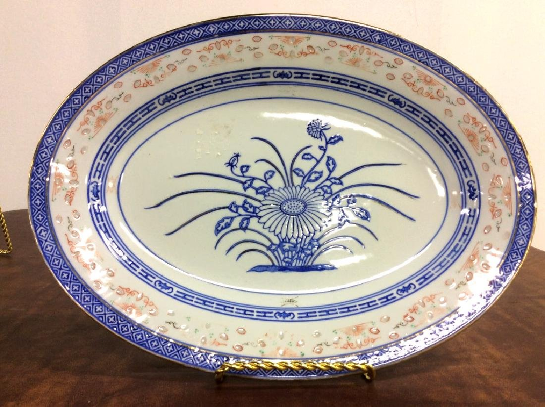 Asian Ceramic Platter Tableware