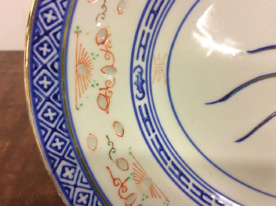 Asian Ceramic Platter Tableware - 4