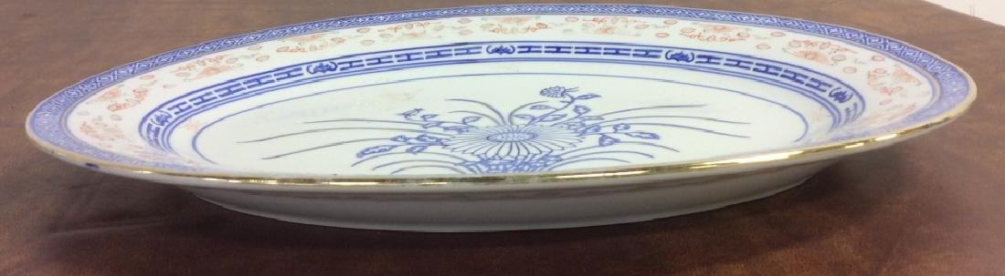 Asian Ceramic Platter Tableware - 7