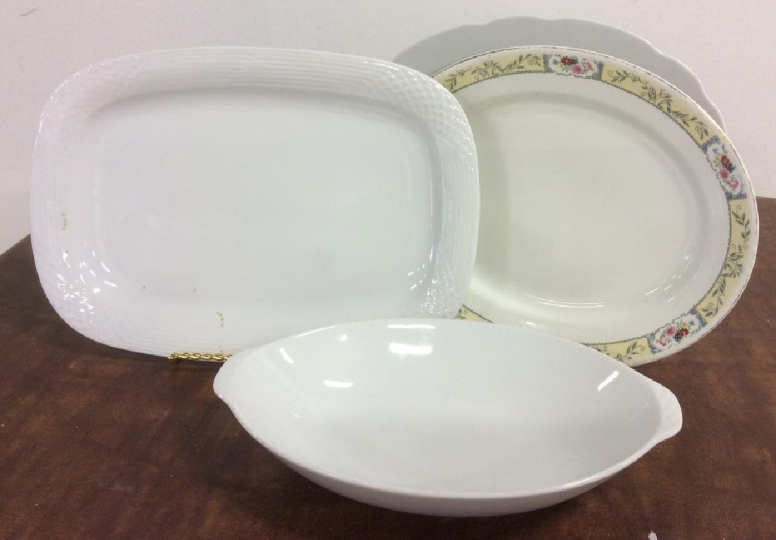 Group Lot of Mixed Ceramic Serving ware