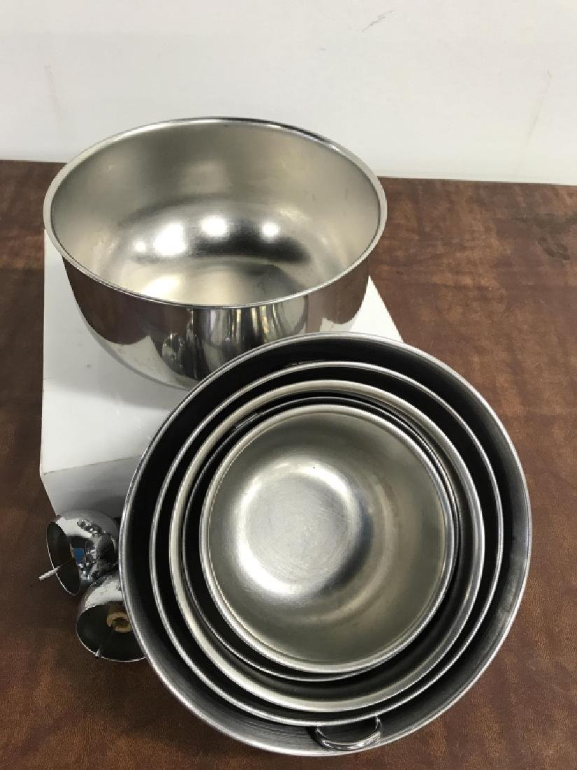 Stainless Mixing Bowl Set - 2