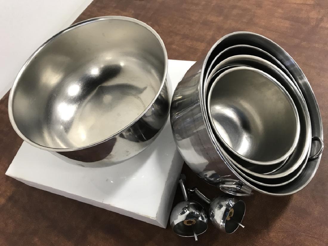 Stainless Mixing Bowl Set - 3