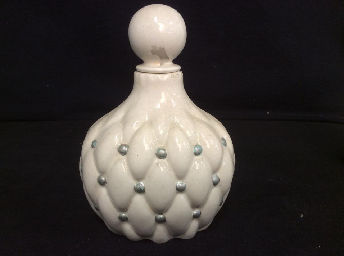Ladies Vintage Ceramic Vanity Set - 3