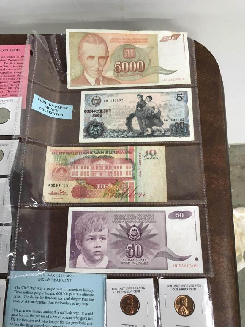 Extensive Collection of American Coins And Money - 7