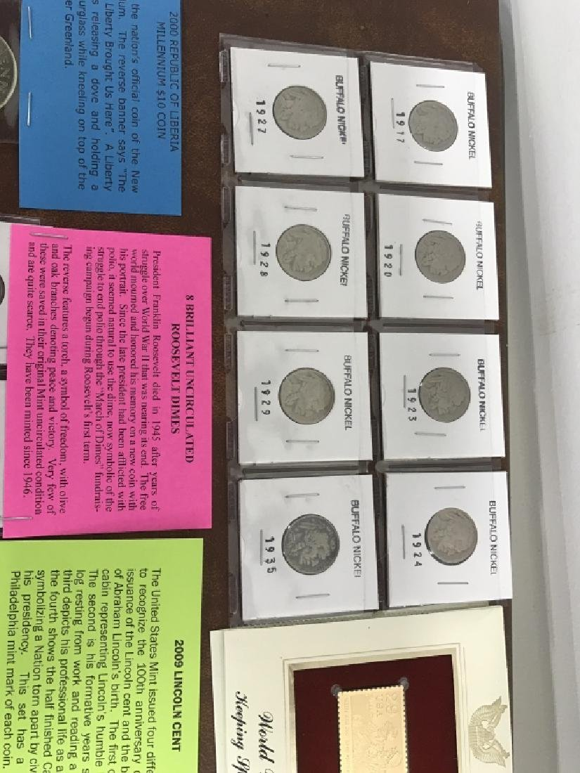 Extensive Collection of American Coins And Money - 9
