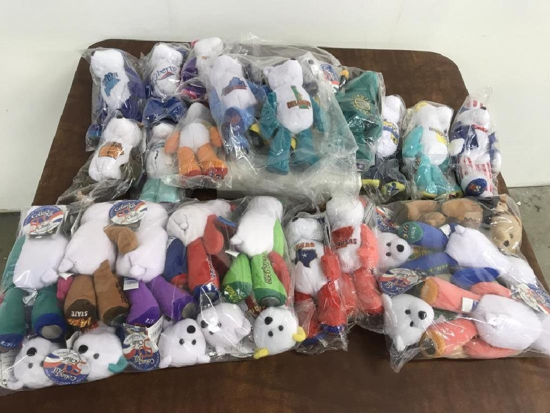 Extensive Collection of Coin Bears