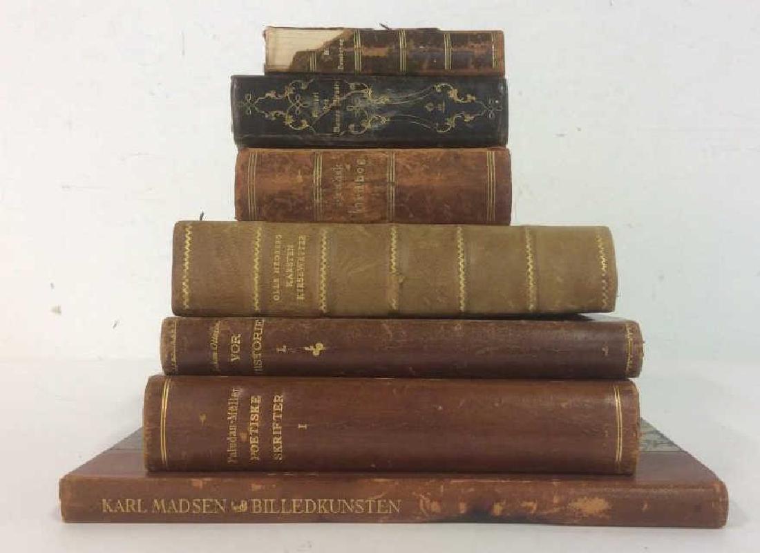 Group of Vintage & Antique Mixed Language Books