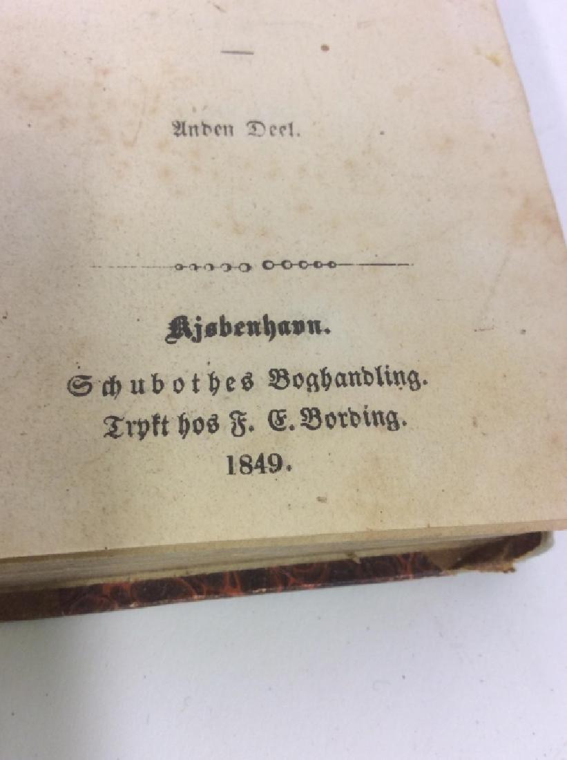 Group of Vintage & Antique Mixed Language Books - 5