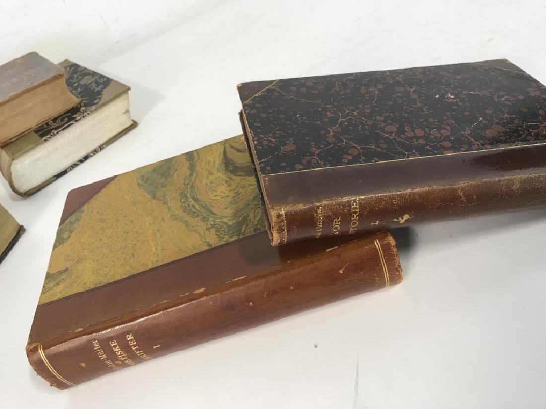 Group of Vintage & Antique Mixed Language Books - 9