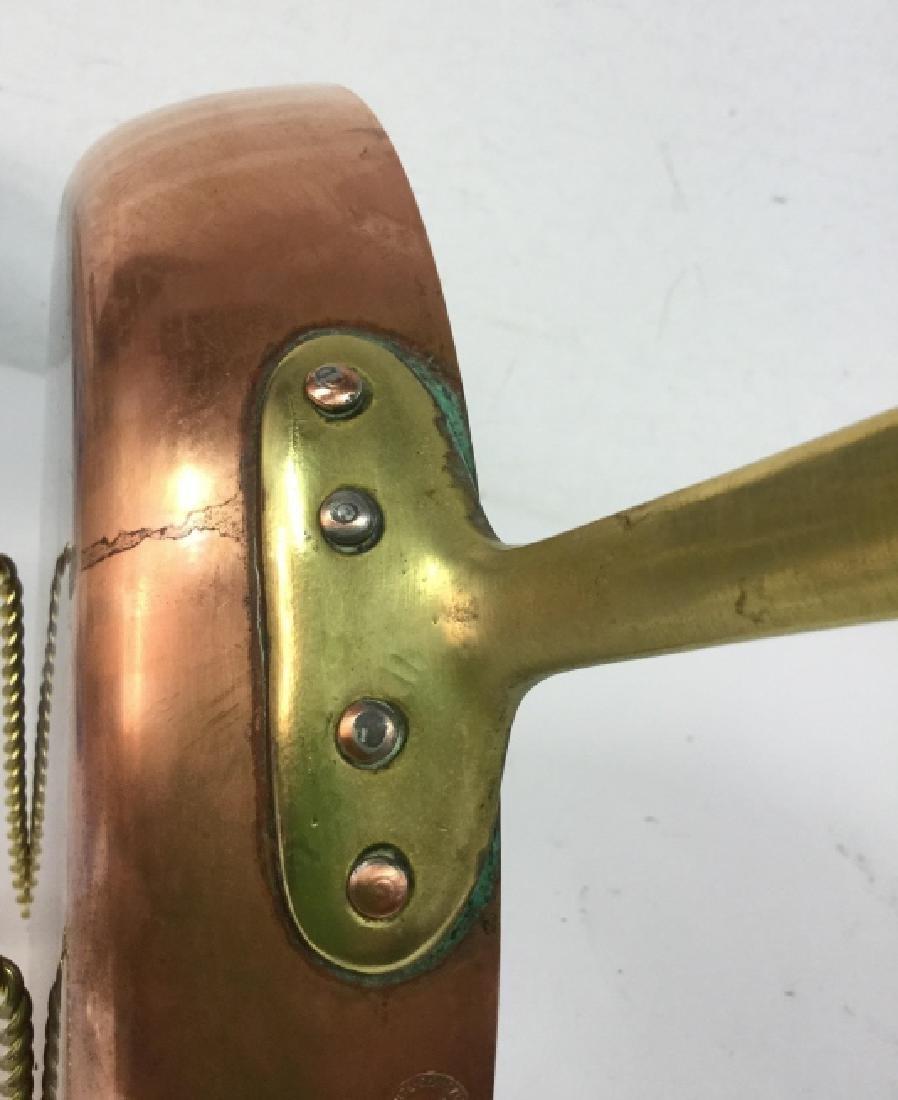 German Copper Frying Pan - 6