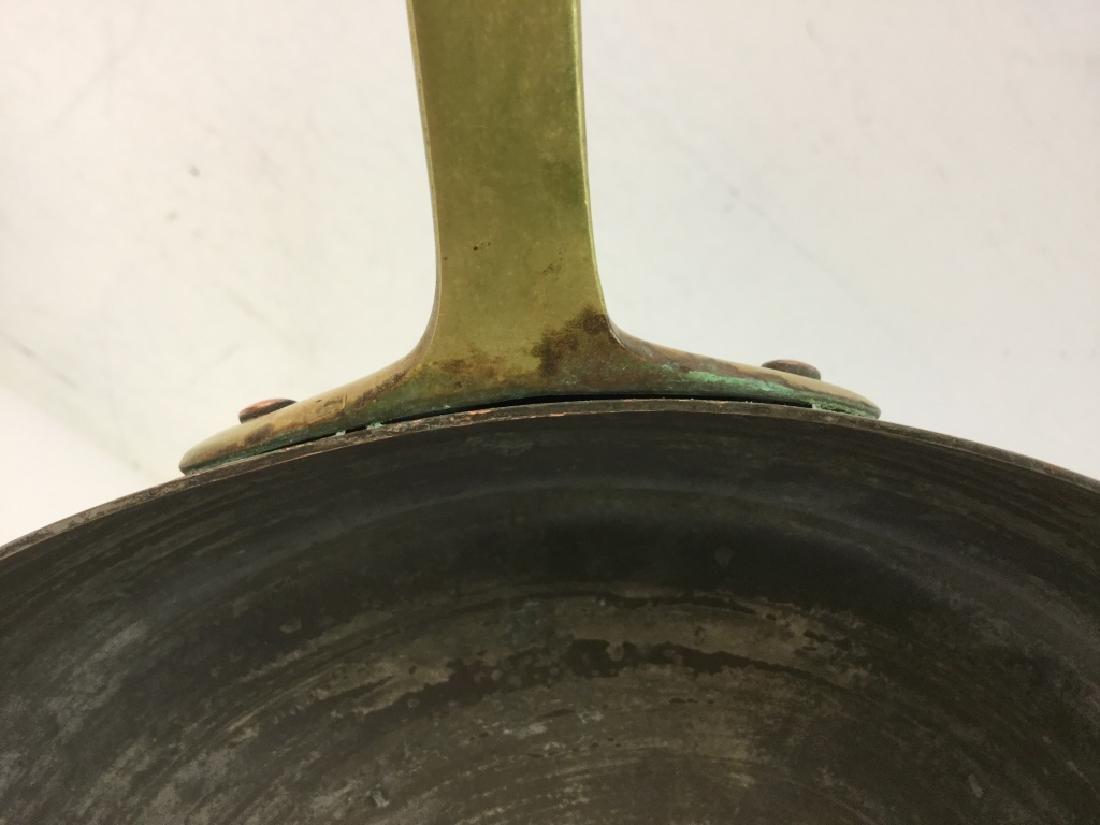 German Copper Frying Pan - 8