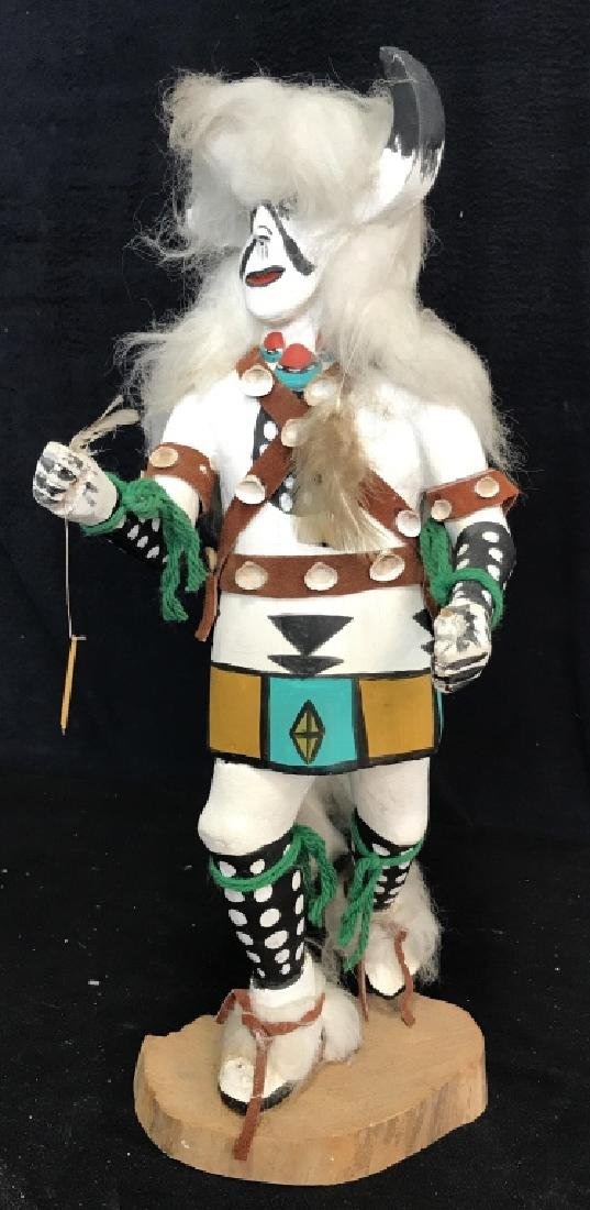Signed Titled Hand Crafted Kachina Doll - 2