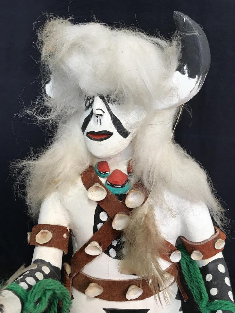 Signed Titled Hand Crafted Kachina Doll - 3