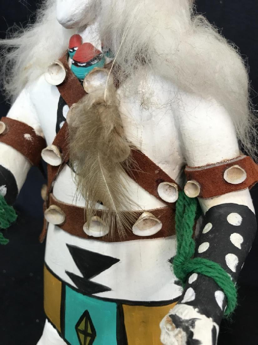 Signed Titled Hand Crafted Kachina Doll - 5