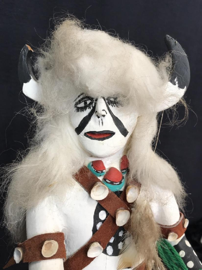 Signed Titled Hand Crafted Kachina Doll - 6