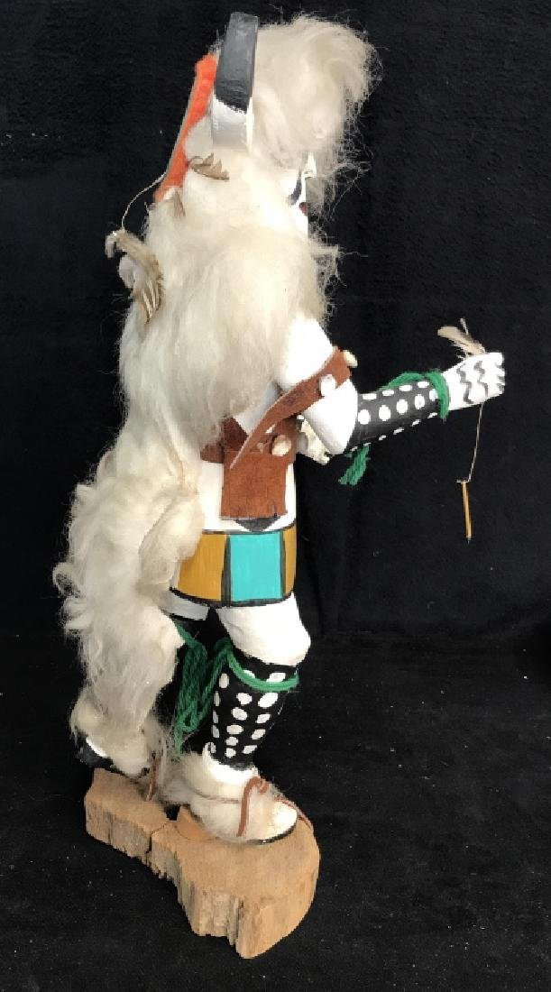 Signed Titled Hand Crafted Kachina Doll - 8