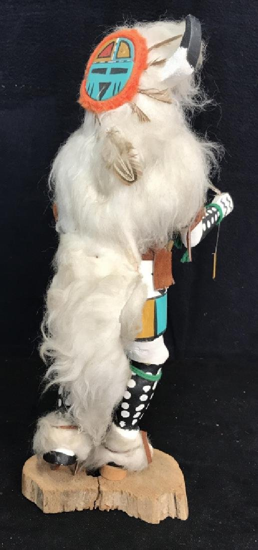 Signed Titled Hand Crafted Kachina Doll - 9
