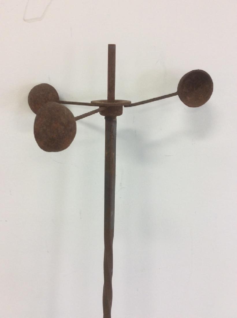 Metal Iron Weathervane Garden Ornamentation - 3