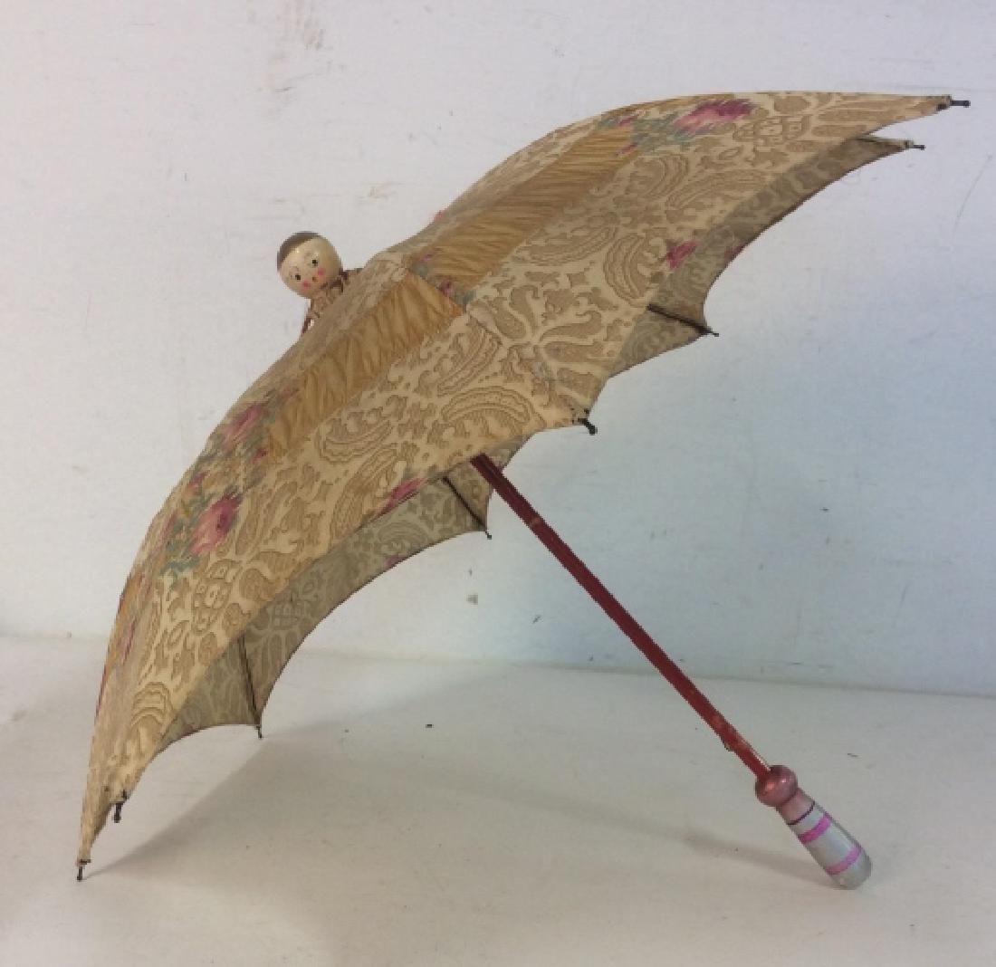 Antique Child's Parasol Umbrella - 4