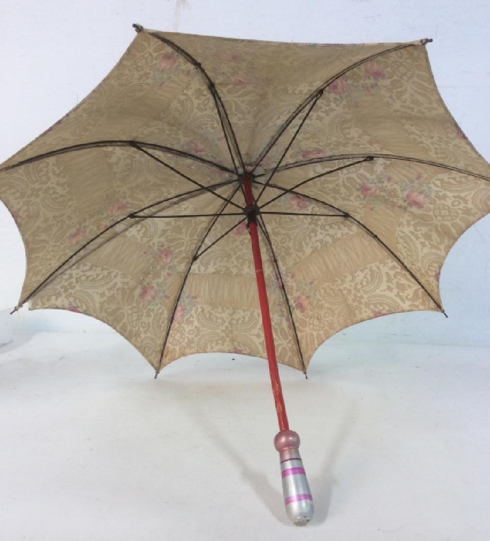 Antique Child's Parasol Umbrella - 6