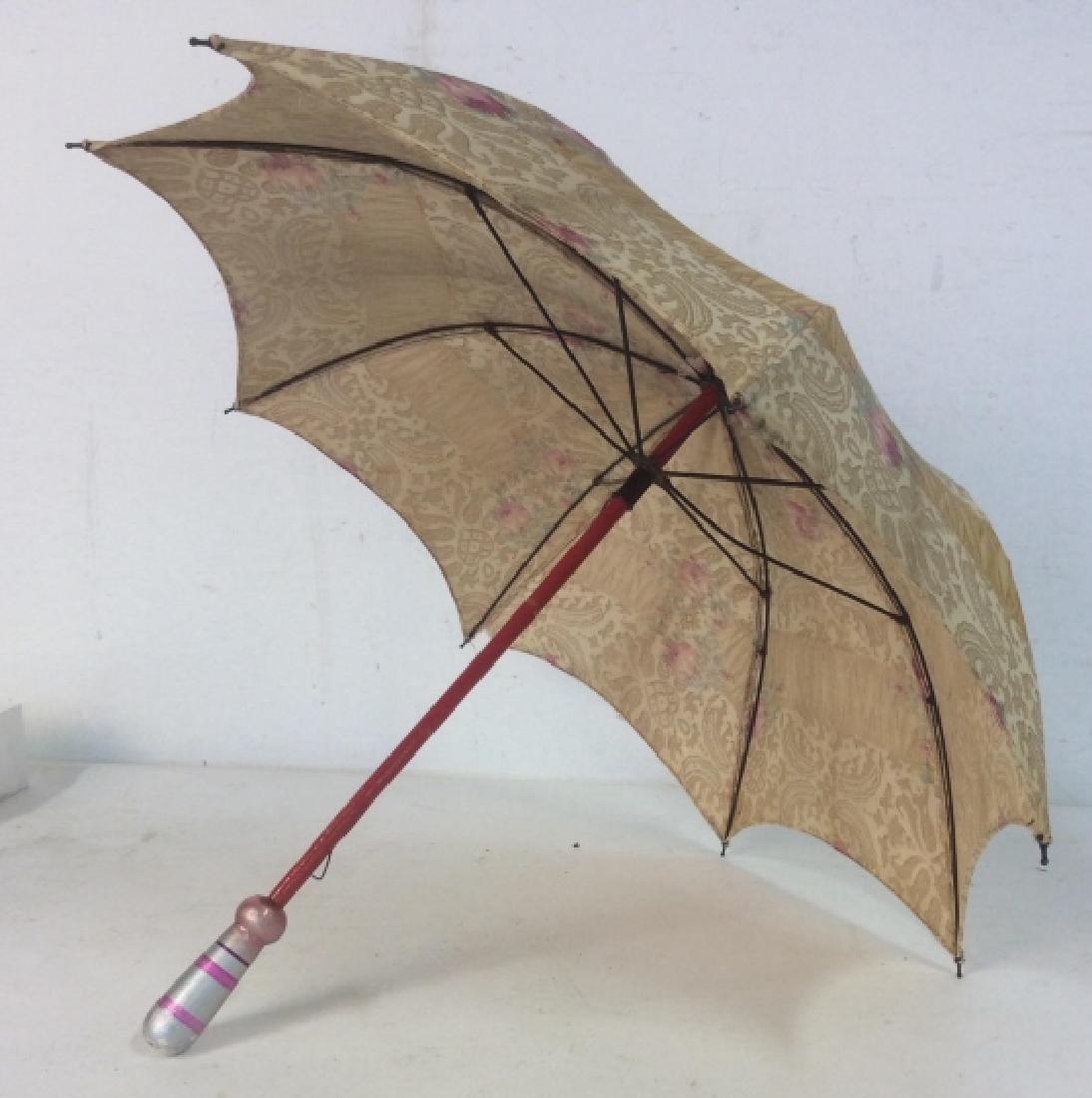 Antique Child's Parasol Umbrella - 8