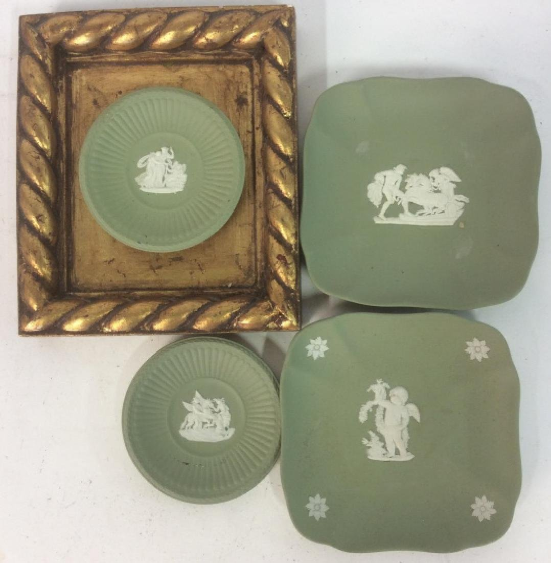 Group Wedgewood Porcelain Trinket Plates