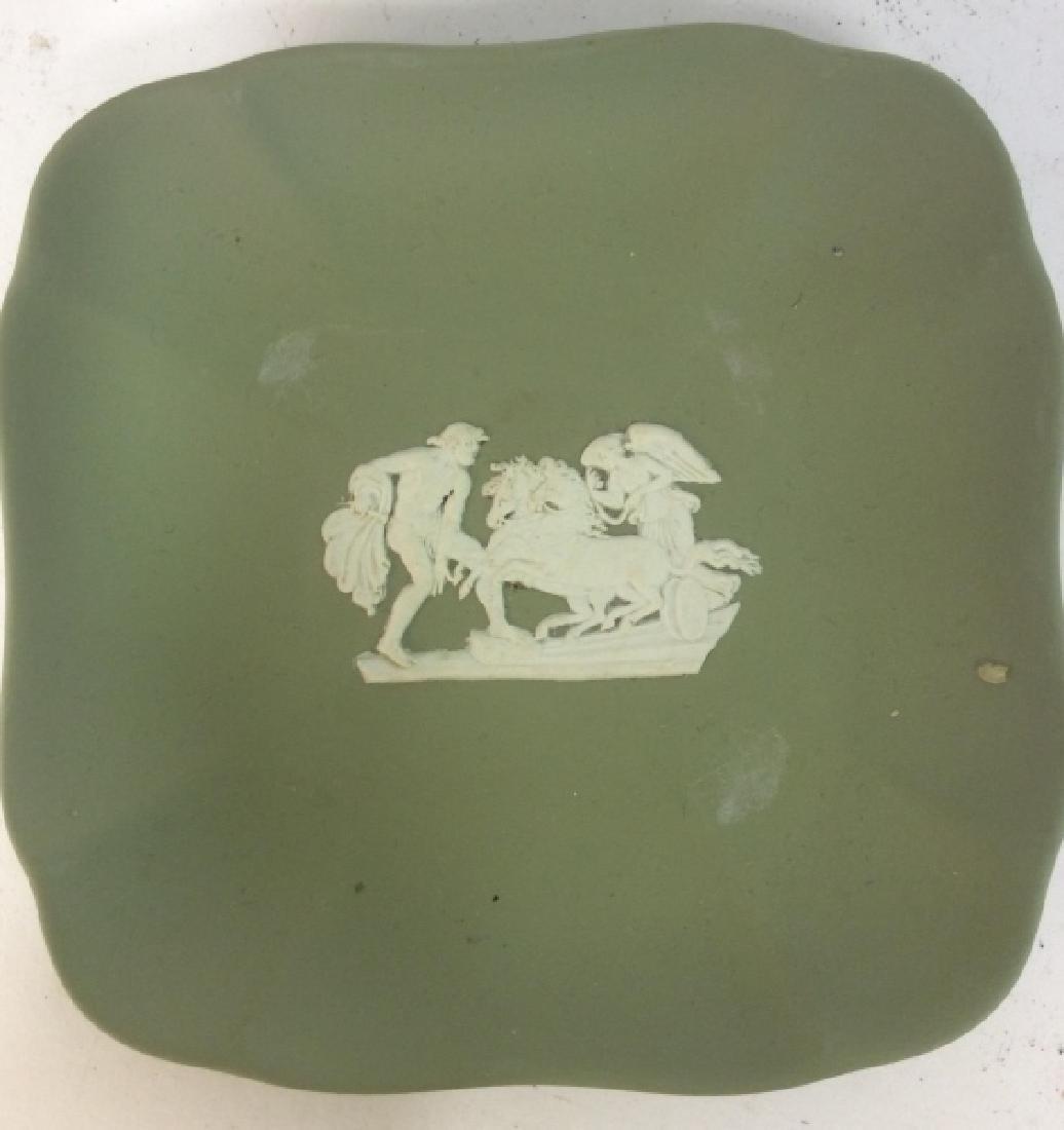 Group Wedgewood Porcelain Trinket Plates - 4